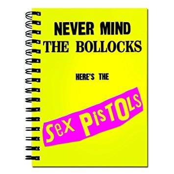 sex pistols notes