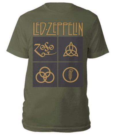 led zeppelin majice