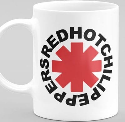 Red Hot Chili Peppers šalica