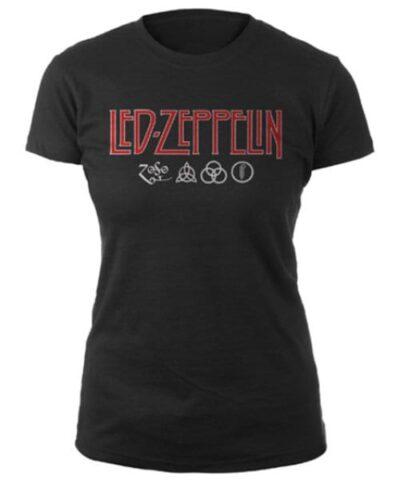 led zeppelin ženska majica