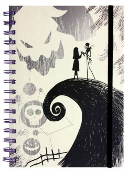 Nightmare Before Christmas SPIRALNI NOTES