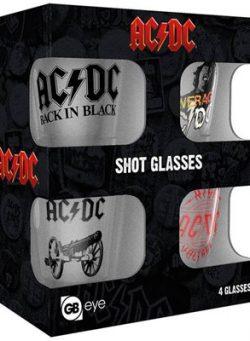 AC/DC shooter čaša