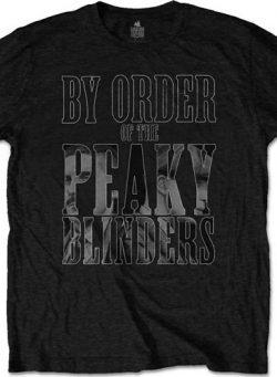 Peaky Blinders - By Order-majica