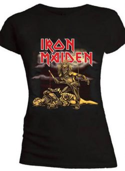 iron maiden ženska majica