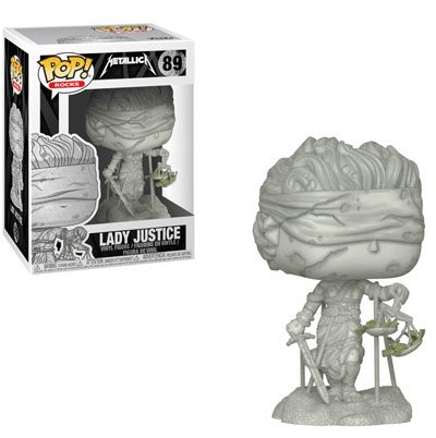Funko POP! Rocks: Metallica - Lady Justice figura