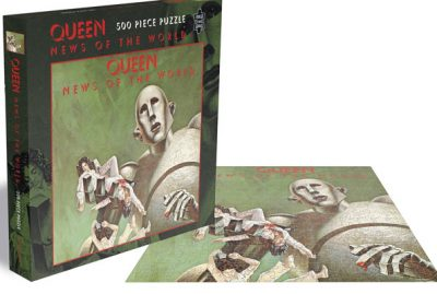 Queen - NEWS OF THE WORLD puzzle