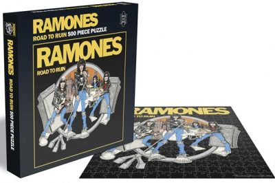 The Ramones - Road to Ruin Puzzle