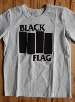 black flag majica