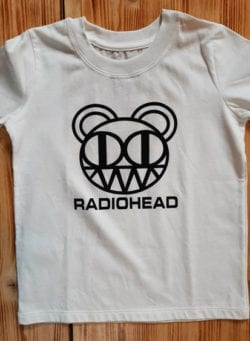 radiohead majica
