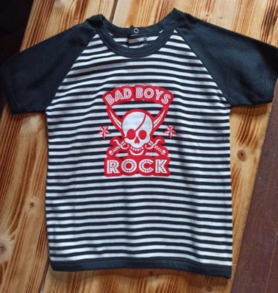 rock dječja majica