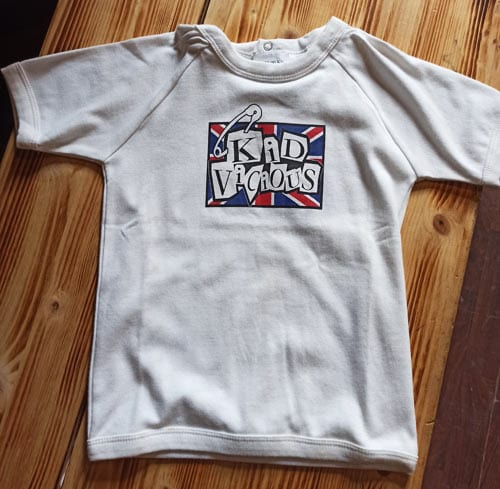 punk dječja majica