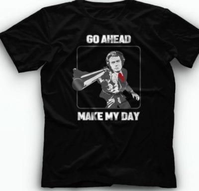 Dirty Harry - Go Ahead, Make My Day majica