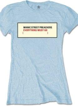 manic street preachers ženska majica