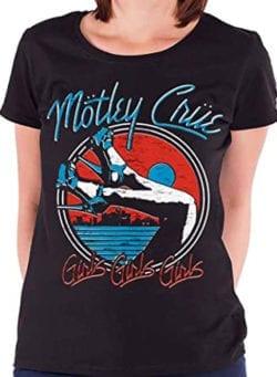 motley crue ženska majica