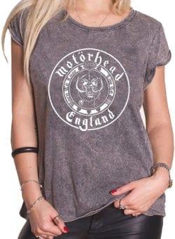 motorhead england ženska majica