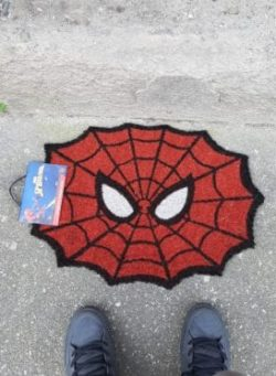 spiderman otirač