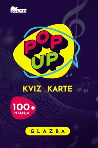 Pop Up Kviz karte - Glazba