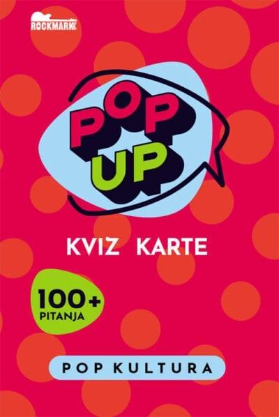 Pop Up Kviz karte - Pop kultura