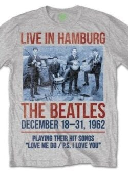 beatles live in hamburg majica