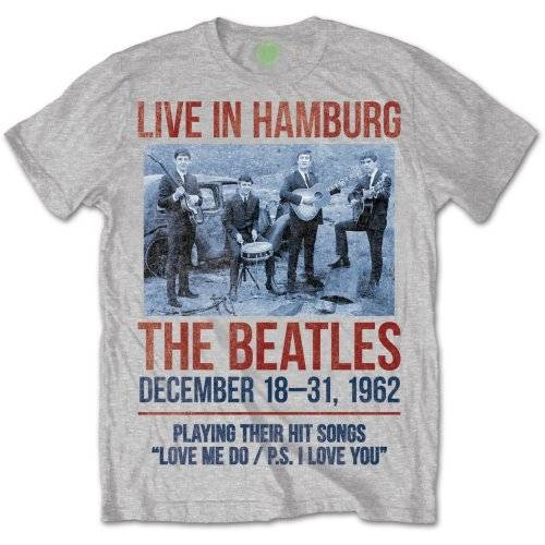 beatles live in hamburg majica
