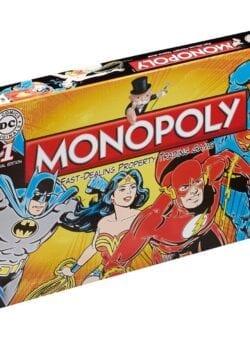dc comics monopoly