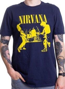 nirvana stage majica