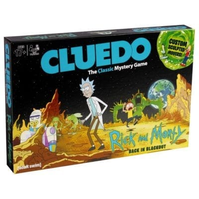 rick and morty cluedo