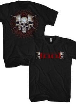 tool skull spikes majica