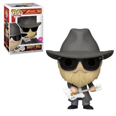 Funko POP! Rocks: Dusty Hill (ZZ Top) figura