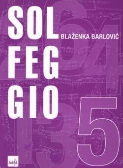 Solfeggio 5 - priručnik za nastavu u glazbenoj školi