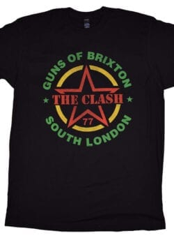 clash guns of brixton majica