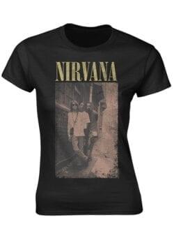 nirvana alleyway ženska majica