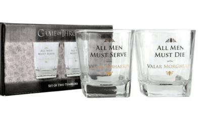 Game of Thrones viski set (2 čaše)
