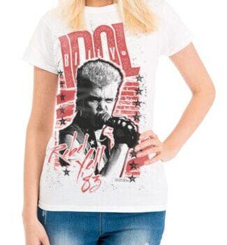 billy idol ženska majica