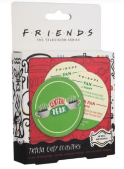 Friends -Trivia kviz set podmetača