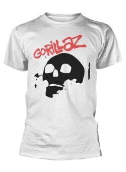 gorillaz skull majica