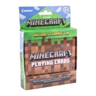 Minecraft igraće karte u limenoj kutiji