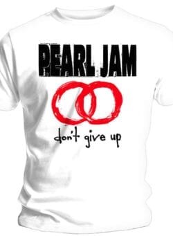 pearl jam don't give up