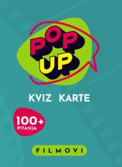 Pop Up Kviz karte - Filmovi