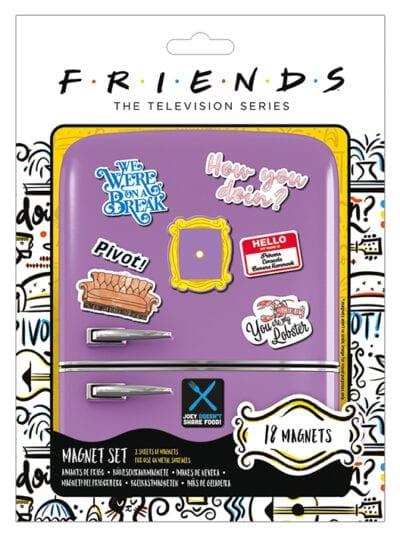 friends set magneta