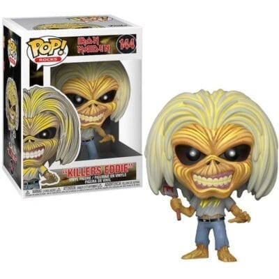 iron maiden funko pop