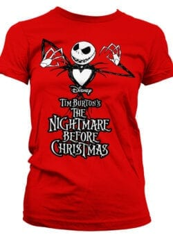 nightmare before christmas ženska majica