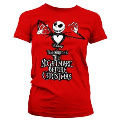 nightmare before christmas ženska majica