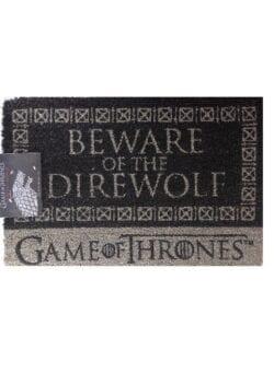 game of thrones otirač direwolf