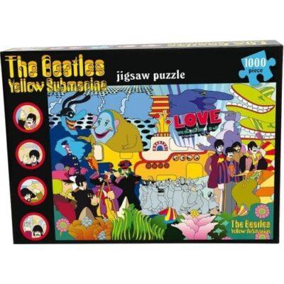 beatles yellow submarine puzzle