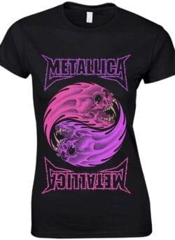 metallica ženska majica