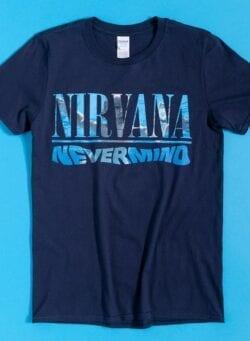 nirvana nevermind majica