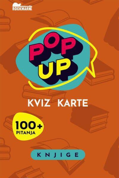 Pop Up Kviz karte - Knjige