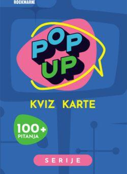 Pop Up Kviz karte - Serije