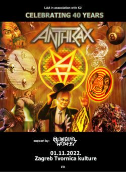 Anthrax u Tvornici kulture